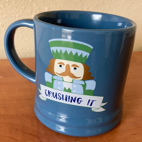 Threshold Nutcracker Mug Crushing It Christmas mug